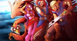 Pirates of Dark Water by PioPauloSantana