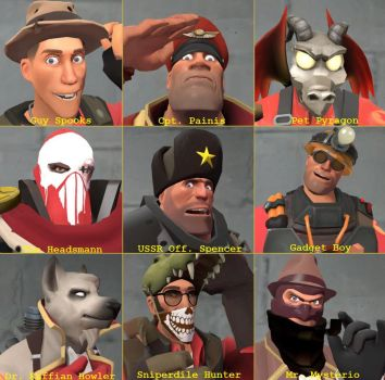 Crew Profile Icons by AtlasTheSahuagin