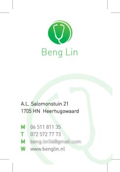 Beng Lin Businesscard concept by rblokker