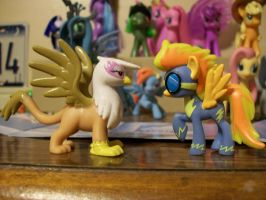 Custom Spitfire and Gilda by FullmetalotakuDCK