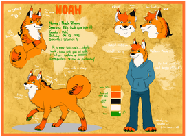 Noah -Official Reference- by MonstahMastah