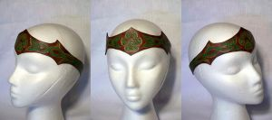 Celtic Pawprint Circlet by MirabellaTook
