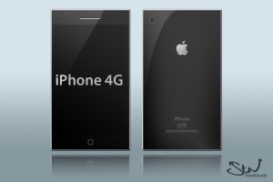 iPhone 4G HD Template by stntoulouse