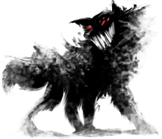 Barghest - Bigger and Badder by Mejin