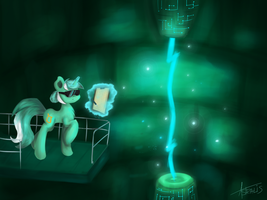 Lyra and her Hands Factory by AstralisPL