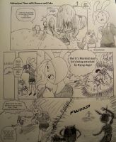 Adventure Time with Fionna and Cake pg 1 by KimmitheHealer