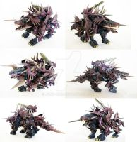 Zoid Custom - Death Basilisk by Juno-Uno