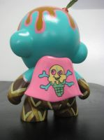 Ice Cream Munny backside by CutlassFury