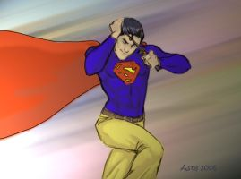 superman finished i guess by asta-chan