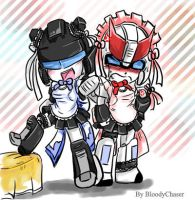Maid Bots - J - P- 01 by BloodyChaser