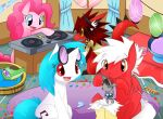 GF-PARTAY AT PINKIE's ROOM by Rexcalibur25
