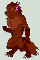 Orestes the Werewolf by TheFallingpiano