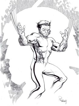 Wolverine in Game of Death by TomRaney