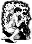 SPN AU BB - Hurt Castiel INK by DragonPress