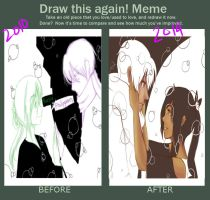 Draw this art Meme Again: Different... by Dreamer-Alicia