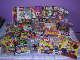Comic collection - The Mask by maylee