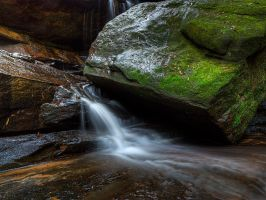 Somersby Water Falls HDR2 by HarryZero