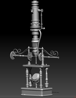 STEAMPUNK MICROSCOPE by nelson808