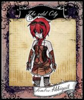 Ficha The-OddCity -Abbigail Knightz- by MadPan-Inc