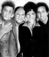 Seinfeld Cast by MindlessCreativity
