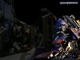 Optimus Prime Wallpaper by not-assassin