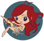Little Mermaid Pin Up Style by PetiteTangerine