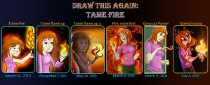 Draw This Again: Tame Fire 2010 - 2015 by Blumestien