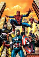 Earth's mightiest heroes..... by Simon-Williams-Art