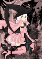 .Pink. and .Black. .Witch. by fma0202