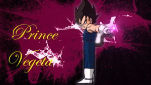 Prince Vegeta by MrQuatrario