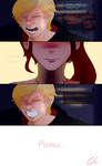 Jaune Arc x Pyrrha Nikos - 'Save her... Please' by CieIty