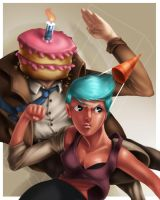 Party on, Cakehead. by Olsonmabob