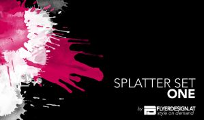 splatter set one by austrianmonst3r