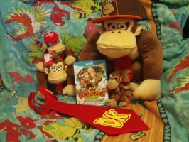 Stuff I Got at DKCTF Event in Nintendo World by MarioSimpson1
