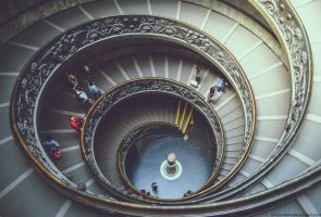 Bramante Staircase by Drazen1804