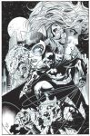 JIM LEE Batman inks by SKY-BOY