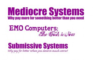 Mediocre Systems by barefootliam