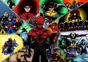 Superior Spiderman:web of memories by ComandanteBrasco