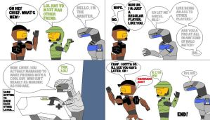 Arby N' The Chief Comic 2 by The-VehicleDestroyer