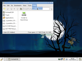 Lysandra Linux 11.09.20 by foxhead128