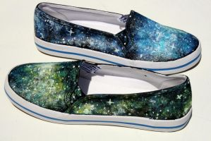Galaxy Shoes 3 by LovelyAngie