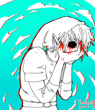 Don't Look -Ben Drowned- by NathyLove5