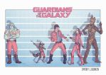Guardians of the Galaxy by Logunkov