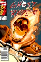 Ghost Rider Portfolio Version by KSWlodyga