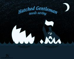 Hatched Gentleman by sheep0creator