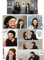 Elevator (the true FanGirl) by giadina96