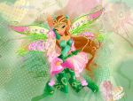 Winx club season 6 Flora Bloomix by fantazyme