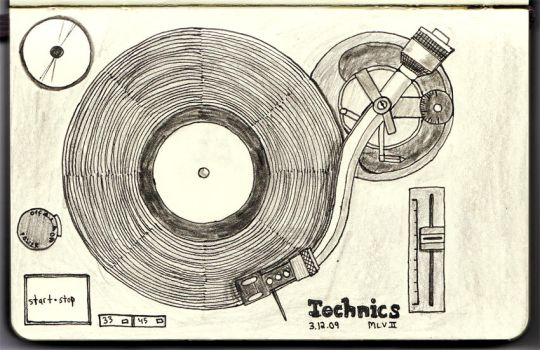 Technics SL-1210 by Mallavol