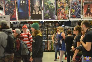 Where's Waldo Cosplay - Montreal Comiccon 2014 by ConMenWebSeries