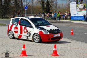 Citroen C2 - Campus Cup in Gyor, 2012.. by morpheus880223